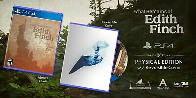 What Remains of Edith Finch Playstation 4 PS4 Iam8bit Limited Run Sealed SoldOut