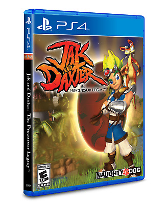 Jak and Daxter The Precursor Legacy PS4 Limited Run Games #184 5000 WW Sold Out!