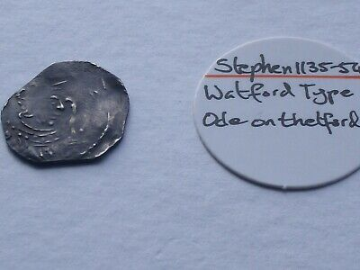 Stephen Norman Hammered English Silver Penny - ODE on THETFORD