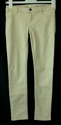 "Boys Abercrombie Stone Beige Chino Jeans Age 16 Years (28"" Leg - 27"" Waist)"