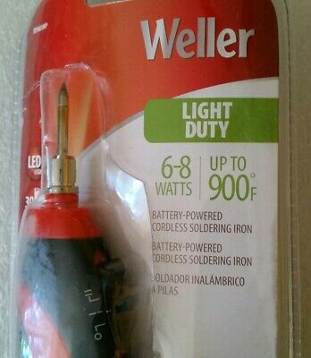 Weller BP865MP Battery Powered Soldering Kit - 6-8 Watts, 900 Degrees, Cordless