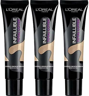 LOREAL Infallible Total Cover Foundation 35g   - various shades