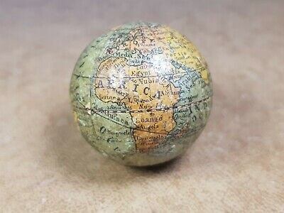 small antique pocket globe