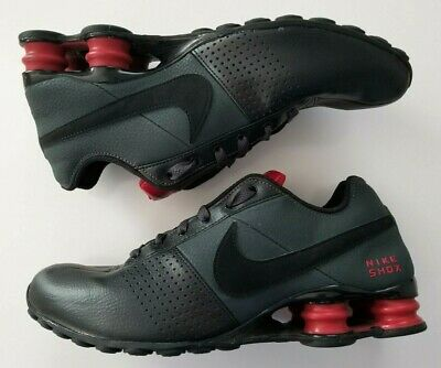 hot sale online 3d0a3 091ae NIKE SHOX  Deliver  Black   Gym - Red Men s Running Shoes 317547 026 Size