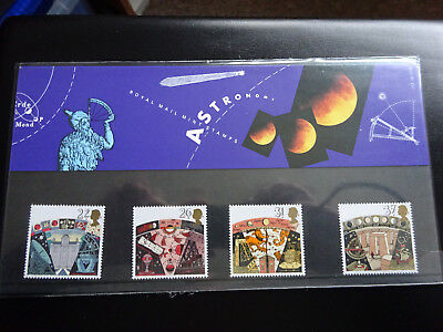 British Post Office Mint Stamps Presentation Pack No: 212 Astronomy  - MNH