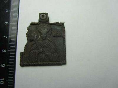 Ancient icon  Ancient copper icon 17-18 century  100% original