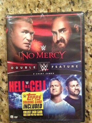 WWE: No Mercy 2017/WWE:Hell in a Cell 2017 (DVD,2017,2-Disc Set)NEW Authentic US