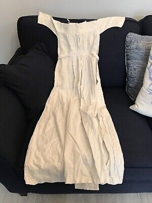 Vintage Victorian Childs Long Cotton Nightdress