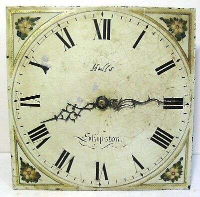 A Good Longcase Dial & Movement - Wells? - Shipston - on - Stour. Circa 1820