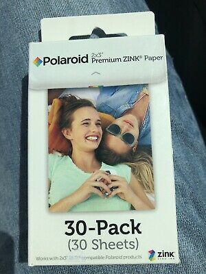 Polaroid 2x3 Inch Premium ZINK Photo Paper 30 Sheets BRAND NEW IN PACKAGE!