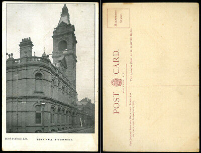 Town Hall Stourbridge~Mark & Moody Postcard~Dudley/West Midlands/Worcestershire