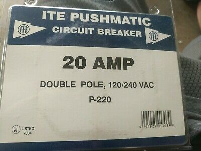 ITE P220 Pushmatic Circuit Breaker