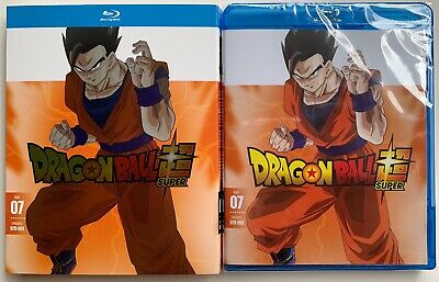 New Dragon Ball Super Part 7 Blu Ray 2 Disc+ Slipcover Sleeve Episodes 079 - 091