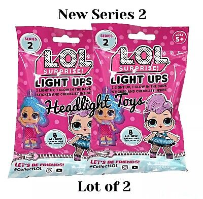 LOL Surprise Doll Series 2 Light Ups Clip Big Sister Keychain Backpack 1 3 4 5 6
