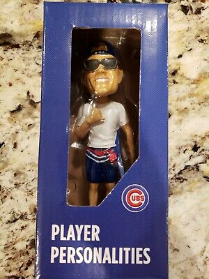 NIB Cole Hamels SGA Bobblehead MINT Wrigley Field Chicago Cubs #35 Giveaway