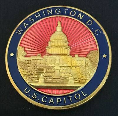 United States Capitol Coin Washington DC Great Seal Of The United States Brass