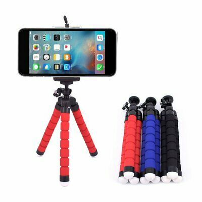 Mini Octopus Flexible Sponge Tripod Bracket Stand Mount Camera Phone Holder ZK