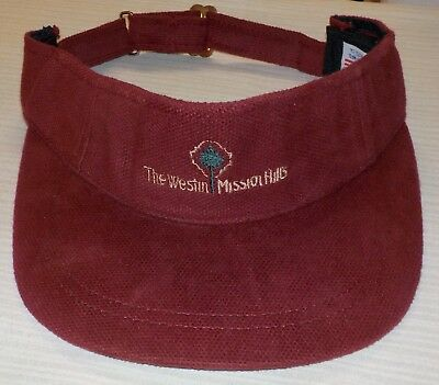 The Westin Mission Hills Rancho Mirage Championship Golf Course Pro Shop Visor