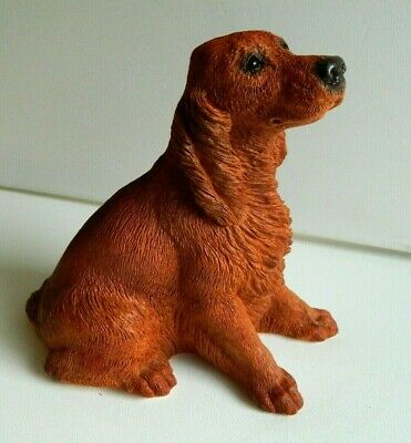 CLASSIC CRITTERS IRISH SETTER numbered CC-062 UNITED DESIGN CORP.