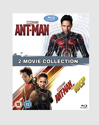 Marvel's Ant-Man + Ant-Man & The Wasp Blu-ray Action/Comedy/Sci-fi Movie