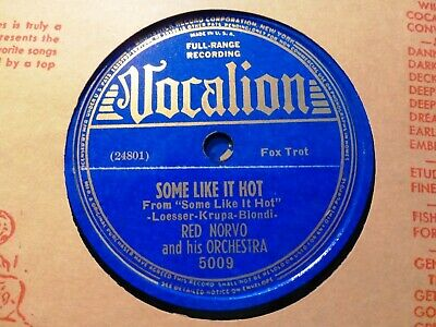 1939 RED NORVO Orch SOME LIKE IT HOT/ Have Mercy VOCALION