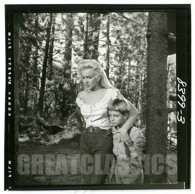 Marilyn Monroe Tommy Rettig River Of No Return 1954 Original Vintage Photograph