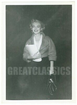 Marilyn Monroe 1952 Young Beautiful Candid Original Vintage Photograph
