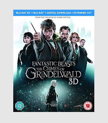 Fantastic Beasts: The Crimes of Grindelwald 3D Blu-ray Adventure/Fantasy Movie