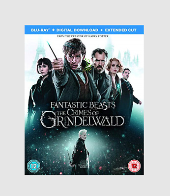 Fantastic Beasts: The Crimes of Grindelwald Blu-ray Fantasy/Adventure Movie