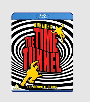 The Time Tunnel: The Complete Collection Blu-ray Action/Adventure/Sci-fi Series