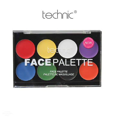 Technic Face Body Paint Palette Set Kit Make Up Painting Cream