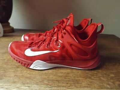 new product 849cb c84ad NIKE Red Silver 2015 Zoom HYPERREV 742247-606 Shoes Sz 12.5