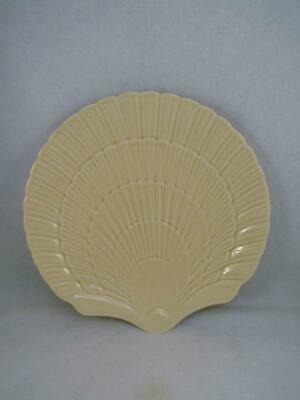 "MIKASA COUNTRY MANOR ""Saffron"" Shell shaped salad plate (12 available) Free Ship"