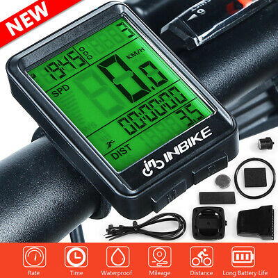 Wireless MTB Cycling Computer Bike Bicycle Speedometer Waterproof Odometer Timer