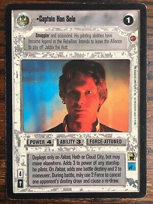 Star Wars CCG Cloud City SWCCG Princess Leia