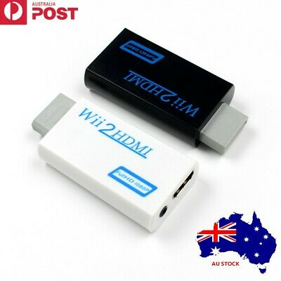 1080p Wii to HDMI Converter Mini 3.5mm  Audio/HD Video Output