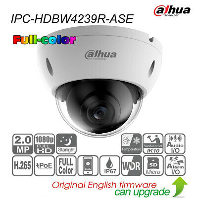 DAHUA IPC-HDBW4239R-ASE 2MP Full-Color Starlight POE Audio&Alarm WDR