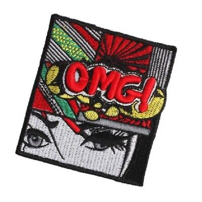 Cute Cartoon Girls Patches Embroidered Applique DIY Clothing Sew Badges Hot Sale