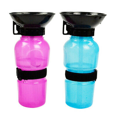 Portable Pet Dog.Cat.Outdoor Travel Water Bowl Bottle Feeder Drinking Fountain