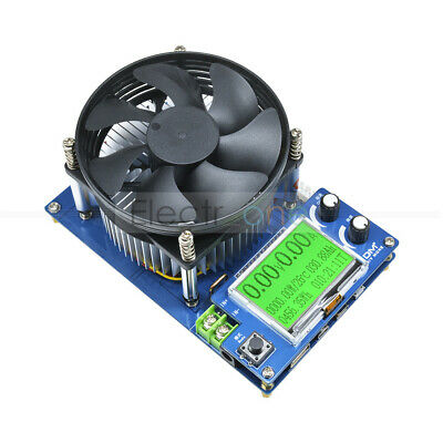 150V 10A Electronic Load 150W Intelligent Tester Battery Discharge Capacity EU