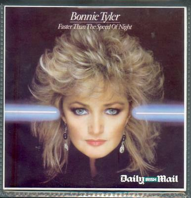 BONNIE TYLER - Faster Than The Speed Of Night (UK 9 Tk CD