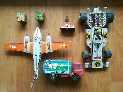 Jouef Anciens De Lot JoustraDinky Tole Solido 5 Jouets Vintage Toy 6Yyvf7bg