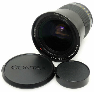 Contax Carl Zeiss Vario-Sonnar 28-85mm F3.3-4.0 T* MMJ Lens For Contax C/Y