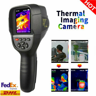 HT-18 Digital Thermal Imaging Camera USB Imager IR Infrared Thermometer 220*160