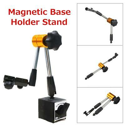 Magnetic Flexible Base Stand Holder + Dial Test Indicator Gauge Scale Precision