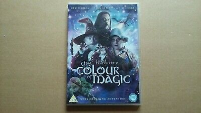 THE COLOUR OF MAGIC DVD Terry Pratchett Brand New Sealed R2