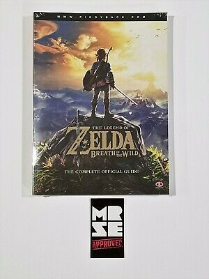 The Legend of Zelda Breath of the Wild Official Game Strategy Guide New Sealed