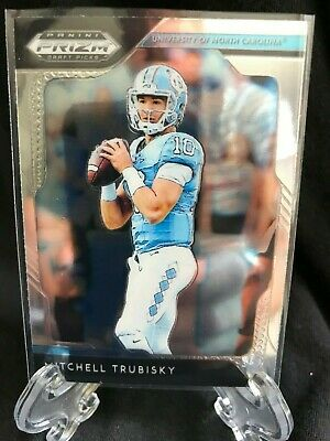 3bb0abc002b MITCHELL TRUBISKY 2019 Panini Prizm Draft Picks #68 Chicago Bears UNC  TARHEELS