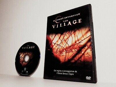 DVD THE VILLAGE Joaquin Phoenix M. Night Shyamalan (2004) STAMPA TOUCHSTONE