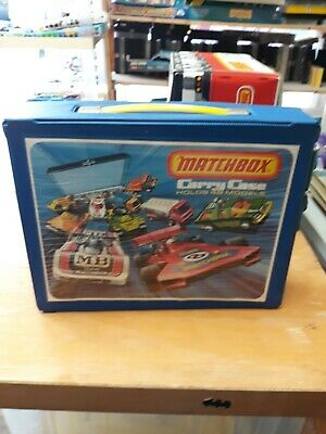 Matchbox Lesney Collector's Carry Case Display For 48 Holds Cars Vintage
